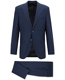 BOSS Men's Phoenix/Madisen Regular-Fit Wool Suit