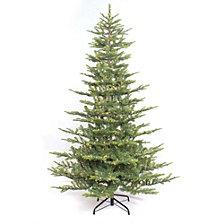 Puleo International 6.5 ft. Pre-lit Arctic Fir Artificial Christmas Tree 500 UL listed Clear Lights