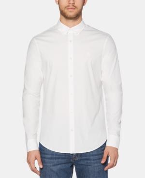Original Penguin T-shirts MEN'S CORE PERFORMANCE STRETCH POPLIN SHIRT