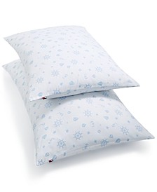 Wheels and Sailboats 200-Thread Count Pillow Collection