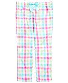 Max & Olivia Little & Big Girls Plaid Pajama Pants, Created for Macy's