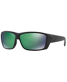 Costa Del Mar Polarized Sunglasses, CAT CAY POLARIZED 61