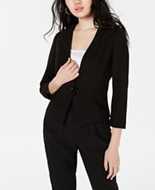 XOXO Juniors' Cropped Blazer Jacket
