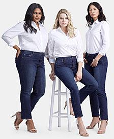 Lauren Ralph Lauren Straight Curvy Jeans