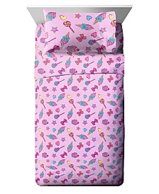 JoJo Siwa 3 Piece Twin Sheet Set