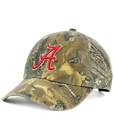 '47 Brand Alabama Crimson Tide Real Tree CLEAN UP Cap
