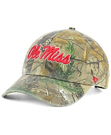 '47 Brand Ole Miss Rebels Real Tree CLEAN UP Cap