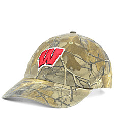 '47 Brand Wisconsin Badgers Real Tree CLEAN UP Cap