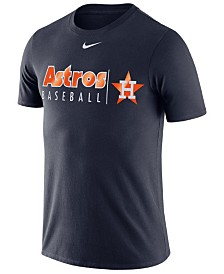 Nike Men's Houston Astros Dri-FIT Practice T-Shirt