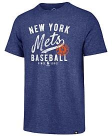 '47 Brand Men's New York Mets Grandstand Triblend T-Shirt