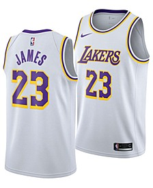 Men's LeBron James Los Angeles Lakers Association Swingman Jersey