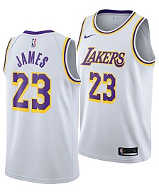 Nike Men's LeBron James Los Angeles Lakers Association Swingman Jersey
