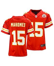 Little Boys Pat Mahomes Kansas City Chiefs Game Jersey