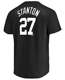 Majestic Men's Giancarlo Stanton New York Yankees Tuxedo Pack Player T-Shirt