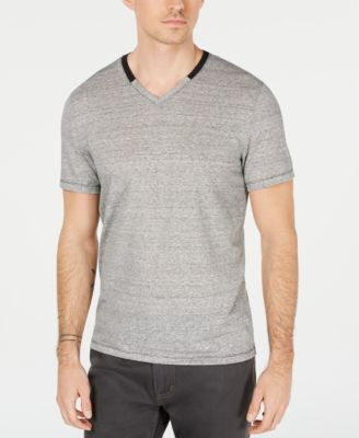Men's Linen Blend V-Neck T-Shirt, Created for Macy's
