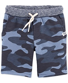 Carter's Toddler Boys Camo-Print Cotton Shorts