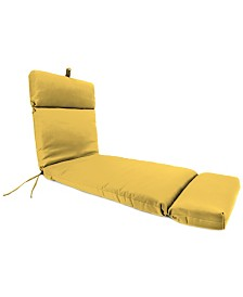 Jordan Manufacturing Outdoor  Chaise Cushion - 1 Pack
