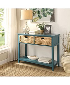 Flavius 2-Drawer Console Table, Quick Ship