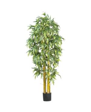 Nearly Natural 6' Big Faux Silk Tree