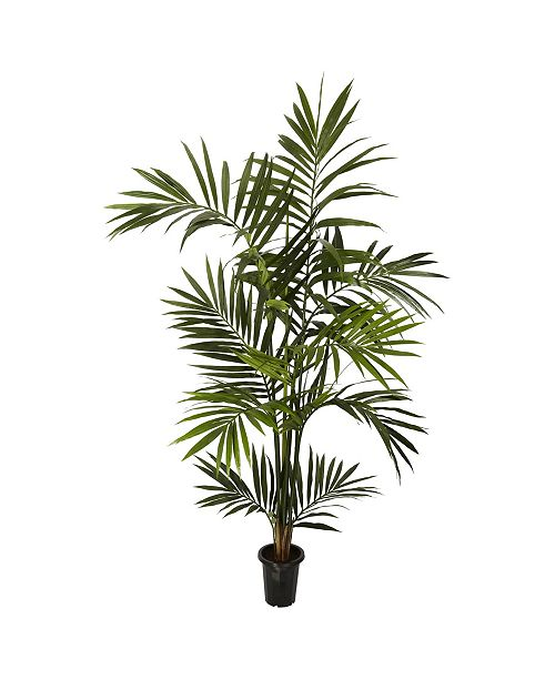 Nearly Natural 6' Kentia Palm Faux Silk Tree