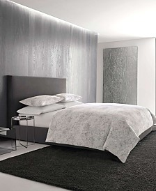 Vera Wang Tuille Floral Grey Duvet Set, King