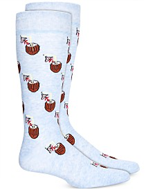 BAR III Men's Coconut Socks, Created for Macy's