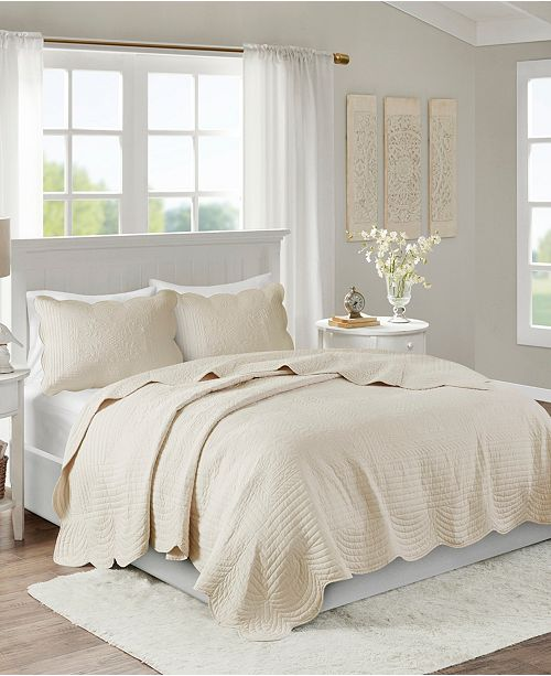 Madison Park Tuscany 3-Pc. Full/Queen Coverlet Set