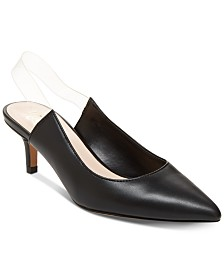 Nanette by Nanette Lepore Harmony Lucite Sling Pumps, Created for Macy's