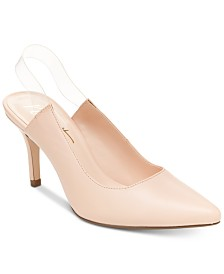 Nanette by Nanette Lepore Selena Lucite Pumps, Created for Macy's