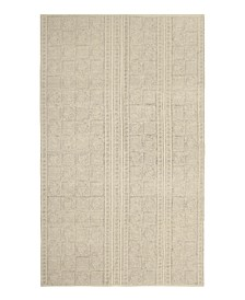 Lorin Stonewash Printed Cotton Accent Rug