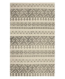 "Maie Stonewash Printed Cotton 30"" x 50"" Accent Rug"