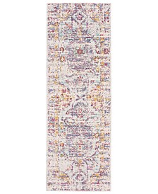 "Giselle Colorwashed Kilim 22"" x 61"" Accent Rug"