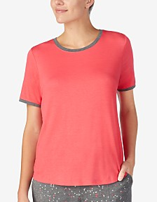 DKNY Short Sleeve Pajama Top 7650125