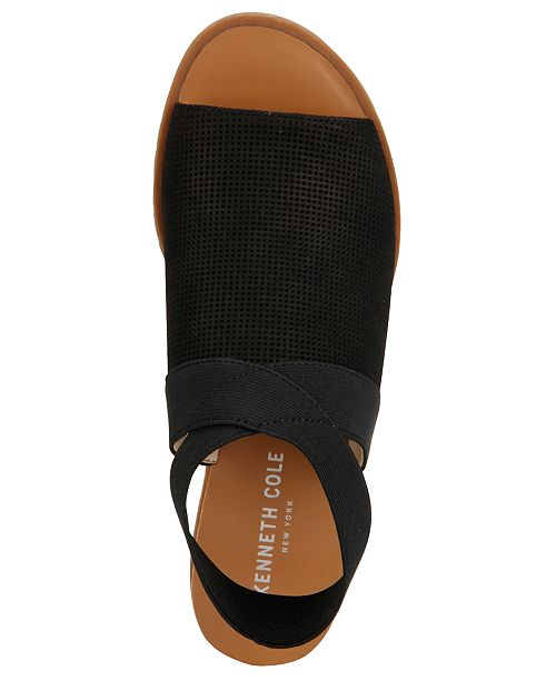 02c359cc2730 Kenneth Cole New York Women s Jules Elastic Sandals   Reviews ...