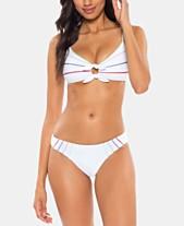 688e38a97876a Soluna Total Eclipse Striped Tie Front Bralette Top and Total Eclipse High  Leg Bikini Bottoms