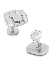 Ribbed Mickey Mouse Cufflinks
