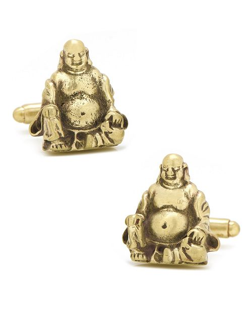 Cufflinks Inc. Smiling Buddha Cufflinks