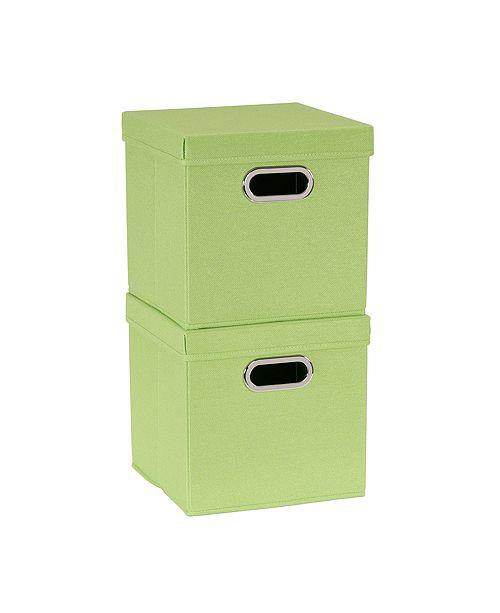 Household Essentials 2-Pc. Apple Heather Storage Box Set