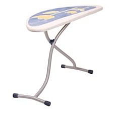 Household Essentials Ergon Halfmoon Steel Top Ironing Board