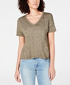 Seamed Burnout T-Shirt