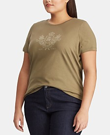 Lauren Ralph Lauren Plus Size Graphic T-Shirt