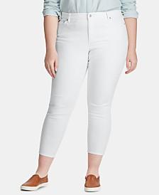 Lauren Ralph Lauren Plus Size Skinny Jeans