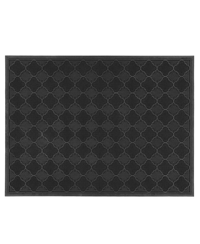 "Home & More - Covington 30"" x 48"" Rubber Doormat"