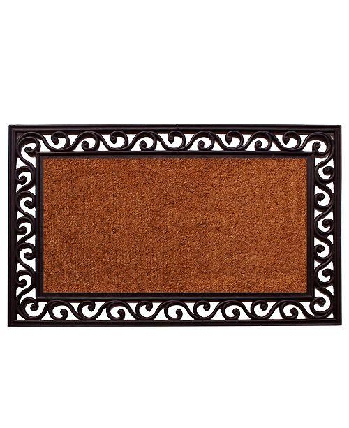 "Home & More Rembrandt 22"" x 36"" Coir/Rubber Doormat"