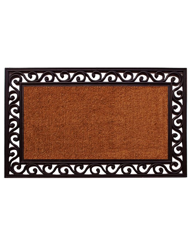 "Home & More Rembrandt 22"" x 36"" Coir/Rubber Doormat"