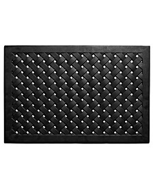 Hampton Weave Rubber Doormat Collection