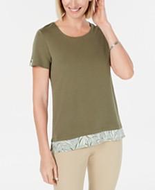 Karen Scott Layered-Look Top, Created for Macy's