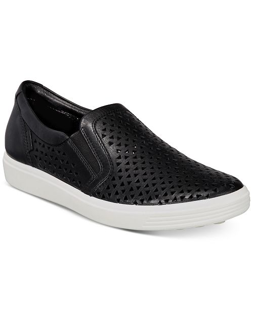 7bca243940 Women's Soft 7 Laser-Cut Slip-On Sneakers