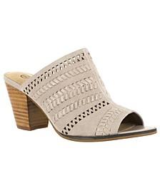 Koraline Block Heel Slide Sandals