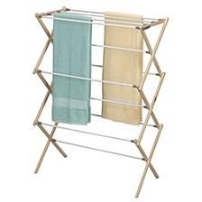 Pine Wood X-Frame Drying Rack